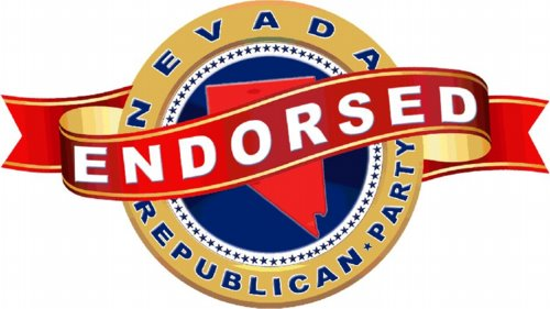 Endorsed by the Nevada Republican Party